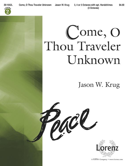 Cover of Come, O Thou Traveler Unknown
