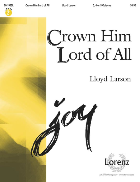 Cover of Crown Him Lord of All