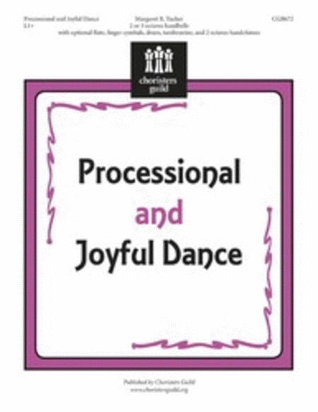 Cover of Processional and Joyful Dance