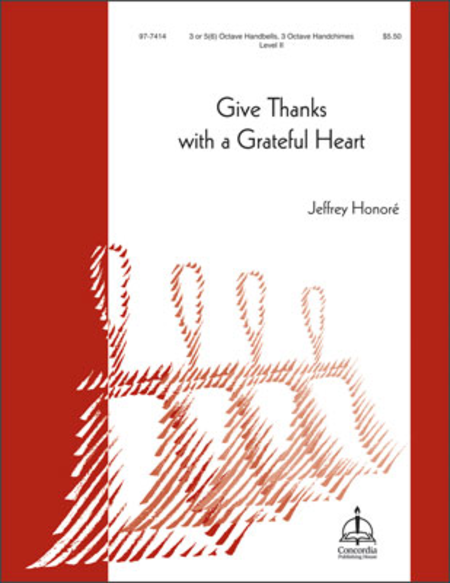 Cover of Give Thanks with a Grateful Heart