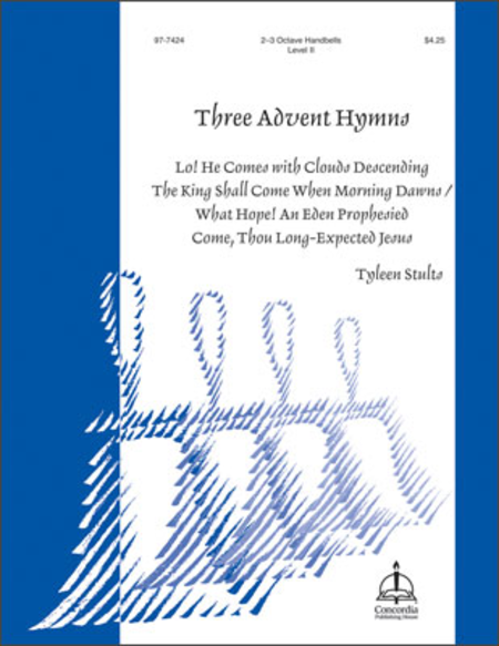 Cover of Three Advent Hymns