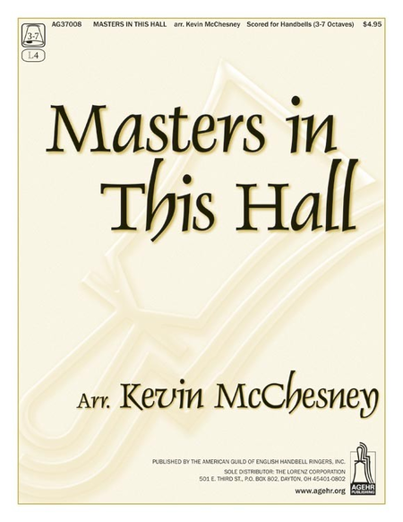 Cover of Masters in This Hall