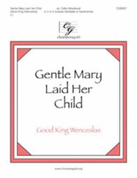 Cover of Gentle Mary Laid Her Child