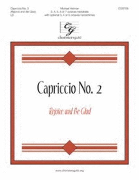 Cover of Capriccio No. 2 (Rejoice and Be Glad)
