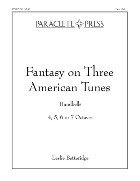 Cover of Fantasy on Three American Tunes