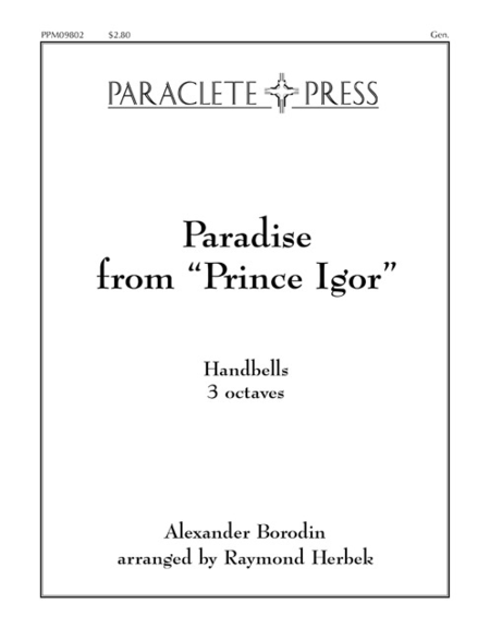 Cover of Paradise (from Prince Igor)