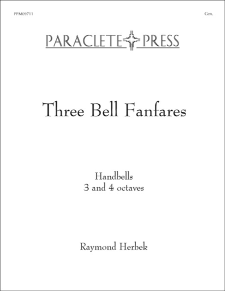Cover of Three Bell Fanfares