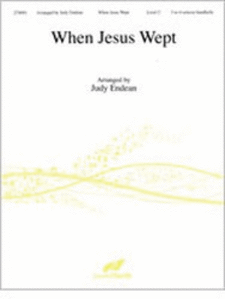Cover of When Jesus Wept