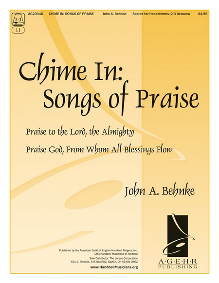 Cover of Chime In: Songs of Praise