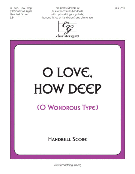 Cover of O Love, How Deep - Handbell Score