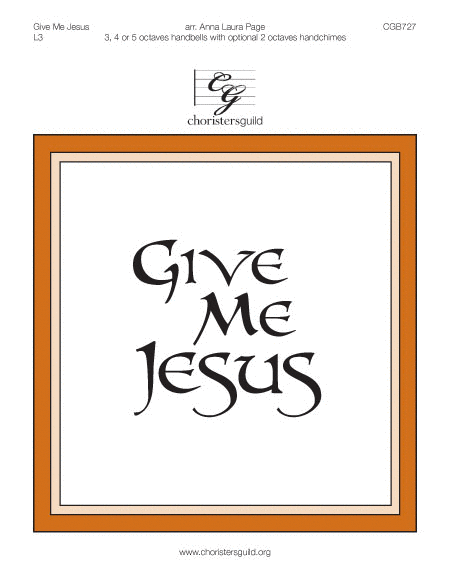 Cover of Give Me Jesus