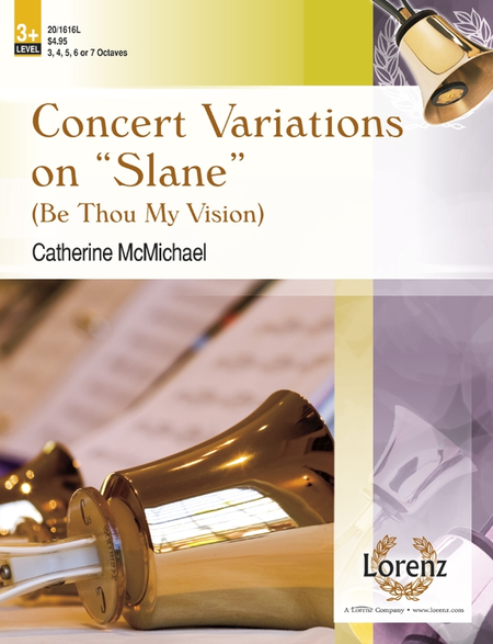 Cover of Concert Variations on Slane