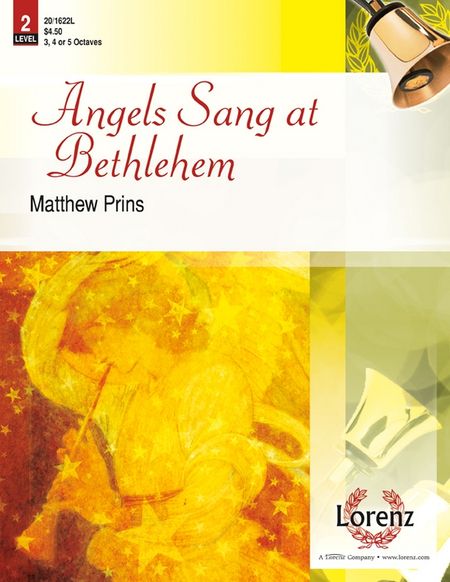 Cover of Angels Sang at Bethlehem