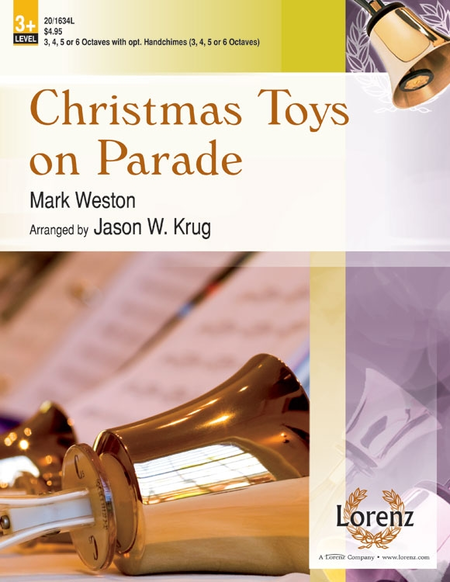 Cover of Christmas Toys on Parade