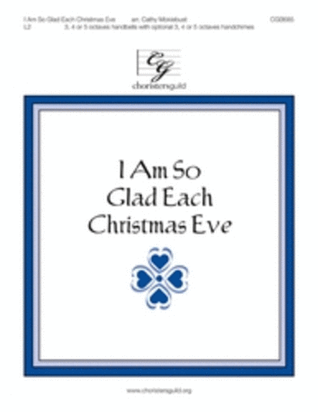 Cover of I Am So Glad Each Christmas Eve