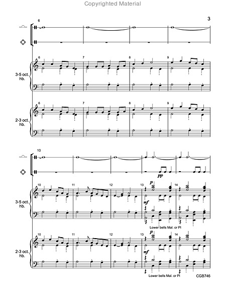 Page 2 of I Will Arise and Go to Jesus - Full Score