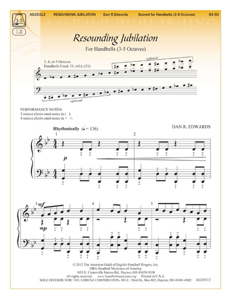 Cover of Resounding Jubilation