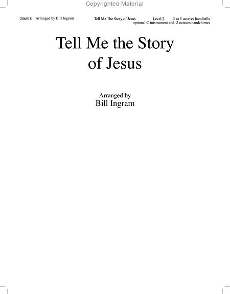 Page 1 of Tell Me the Story of Jesus