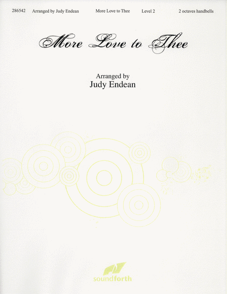 Cover of More Love to Thee