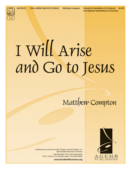 Cover of I Will Arise and Go to Jesus