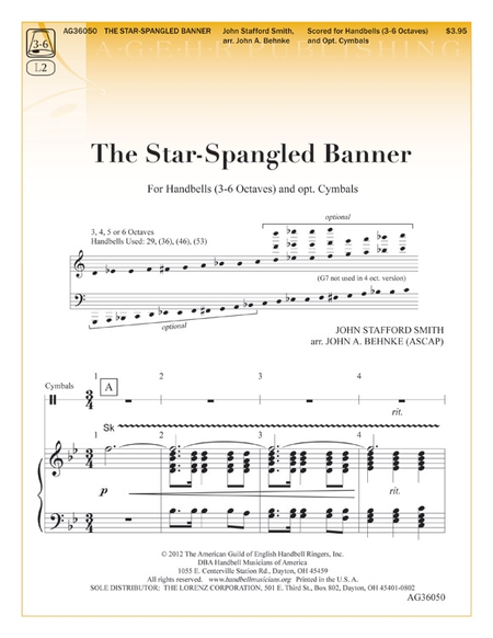 Cover of The Star-Spangled Banner