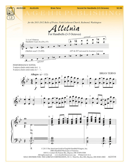 Cover of Alleluia