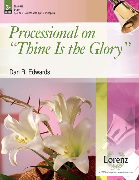Cover of Processional on Thine Is the Glory