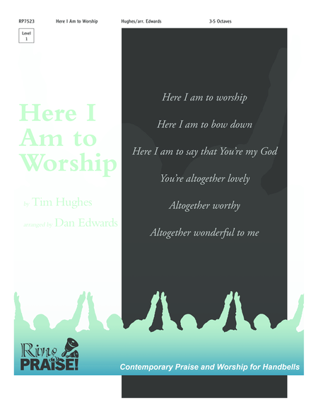 Cover of Here I Am to Worship
