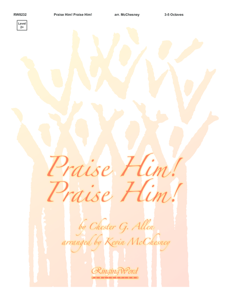 Cover of Praise Him! Praise Him!