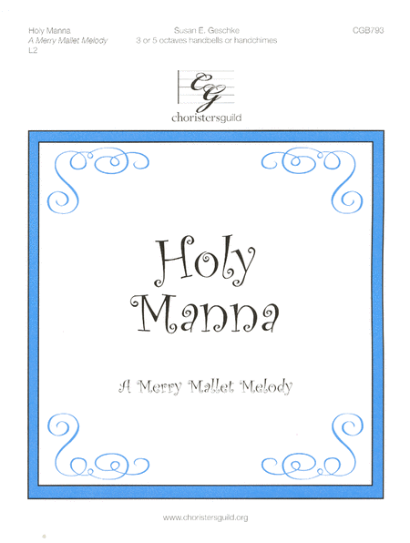 Cover of Holy Manna