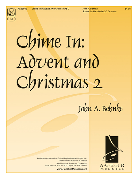 Cover of Chime In: Advent and Christmas 2