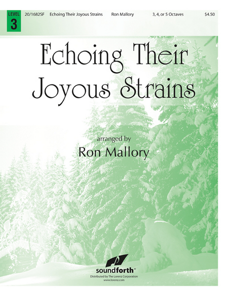 Cover of Echoing Their Joyous Strains