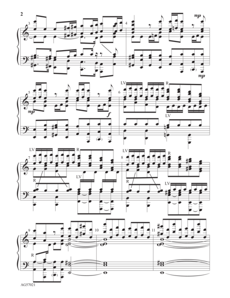 Page 2 of Allegro from the Concerto in A minor