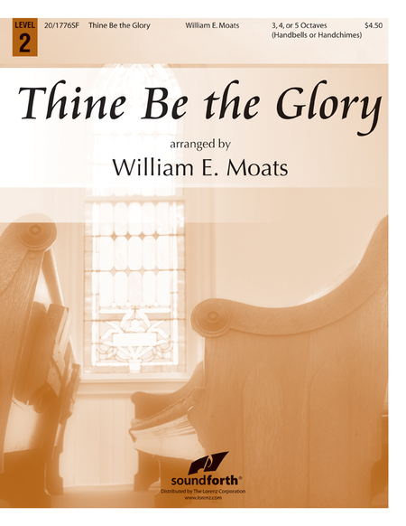 Cover of Thine Be the Glory