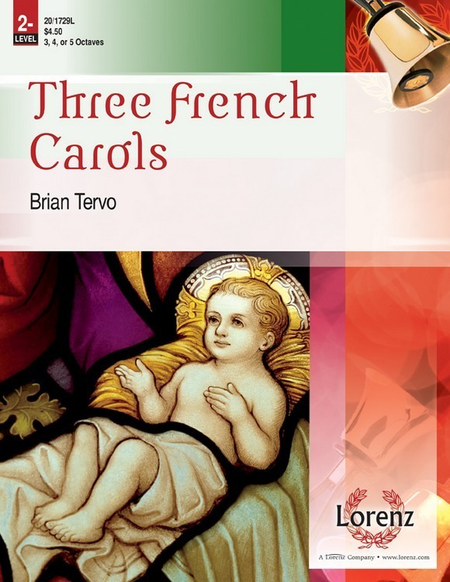 Cover of Three French Carols