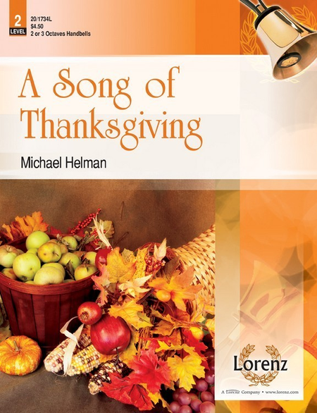 Cover of A Song of Thanksgiving