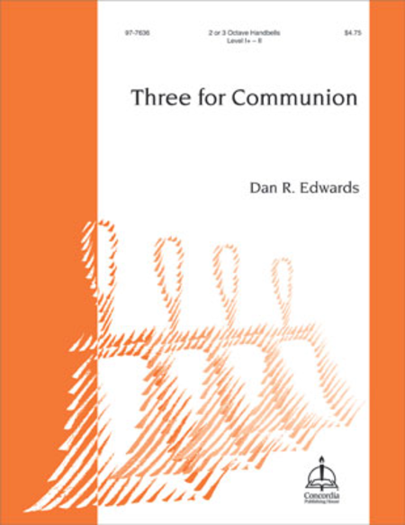 Cover of Three for Communion