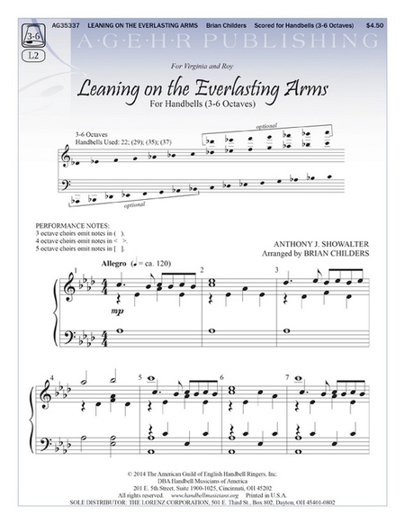 Cover of Leaning on the Everlasting Arms