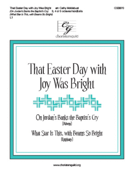 Cover of That Easter Day with Joy Was Bright