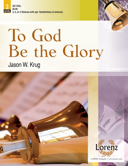 Cover of To God Be the Glory