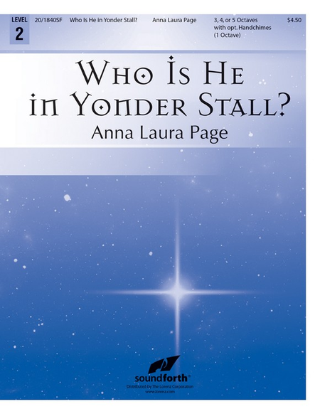 Cover of Who Is He in Yonder Stall?