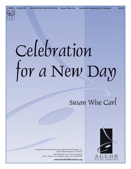 Cover of Celebration for a New Day