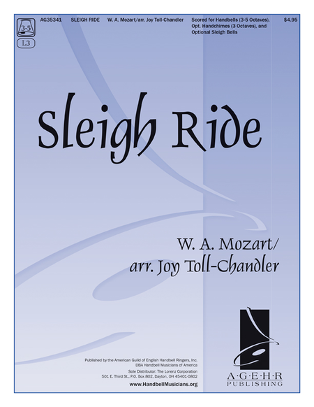 Cover of Sleigh Ride