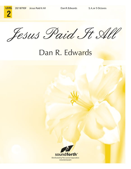 Cover of Jesus Paid It All