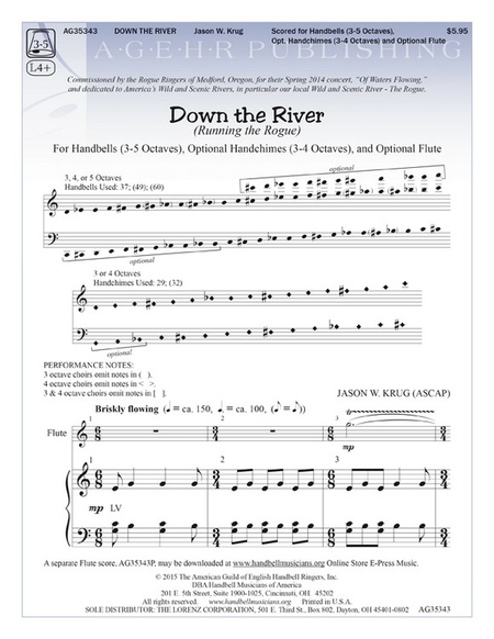 Cover of Down the River
