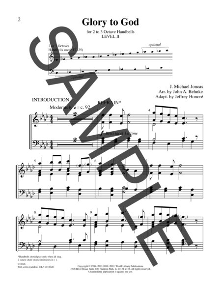 Page 1 of Sing Praise and Thanksgiving