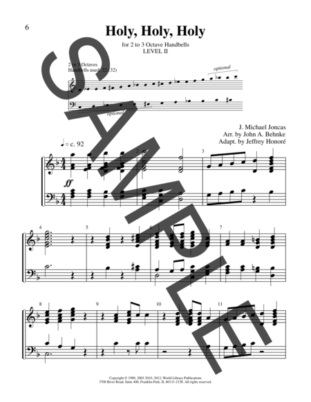 Page 5 of Sing Praise and Thanksgiving
