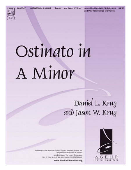 Cover of Ostinato in A Minor
