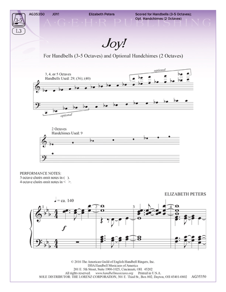 Cover of Joy!