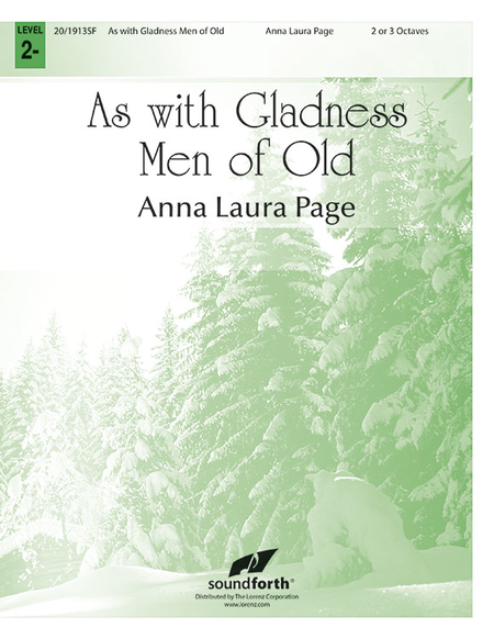 Cover of As with Gladness Men of Old